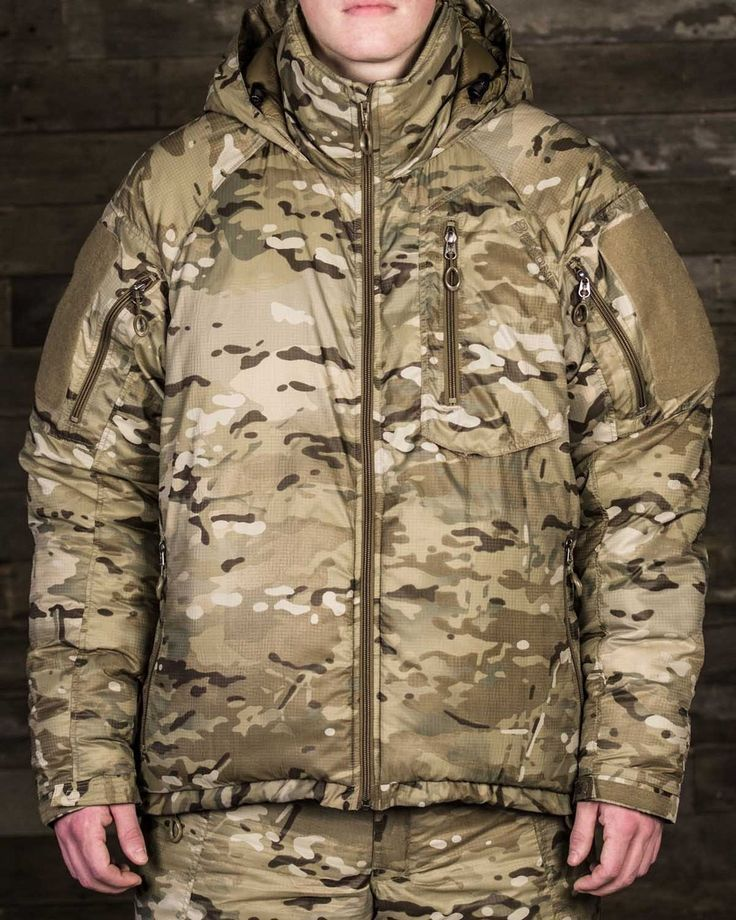 Beyond Clothing's Special Forces Issue USGI ECWCS L7 MultiCam Extreme Cold Weather Parka ...The A7 Cold Jacket is designed for warmth in extreme cold environments. This jacket is built with a DWR coated nylon ripstop shell over Climashield® APEX Insulation. The APEX insulation keeps you warm, retains heat while wet and dries much faster than down. The Nylon ripstop shell repels rain and wind. The A7 Cold Jacket is oversized and designed to be worn over layers A1-A5 while static in arctic…