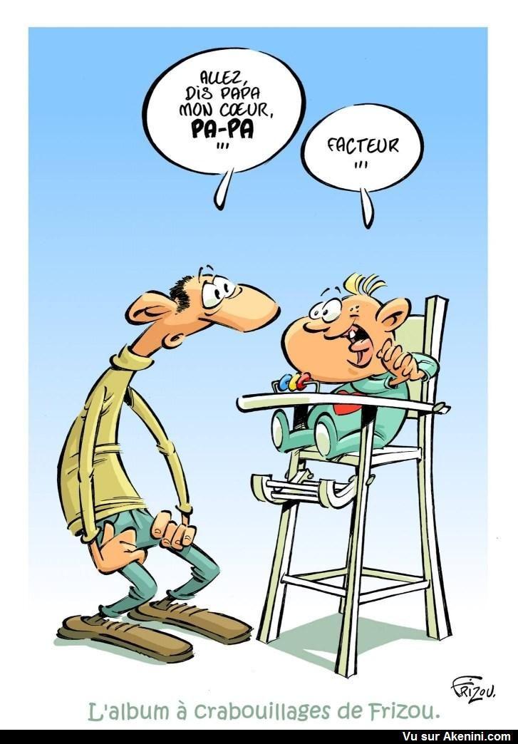 Images Fun N°6618 - Dis PAPA !