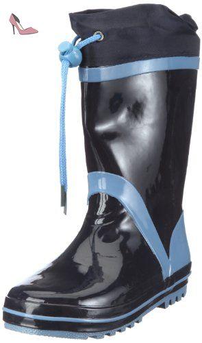 Playshoes 189326, Bottes mixte enfant - Bleu-TR-K1-38, 30-31 EU - Chaussures playshoes (*Partner-Link)