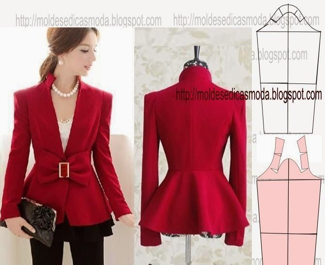 Jacket sleeve , patterns instructions