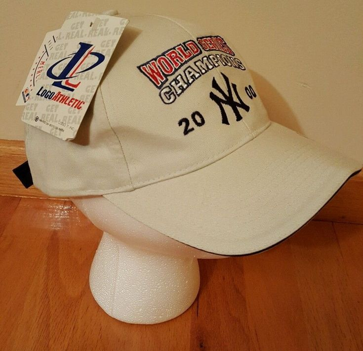 NY YANKEES 2000 WORLD SERIES CHAMPION CAP. NEW WITH TAGS! #Champion #NewYorkYankees