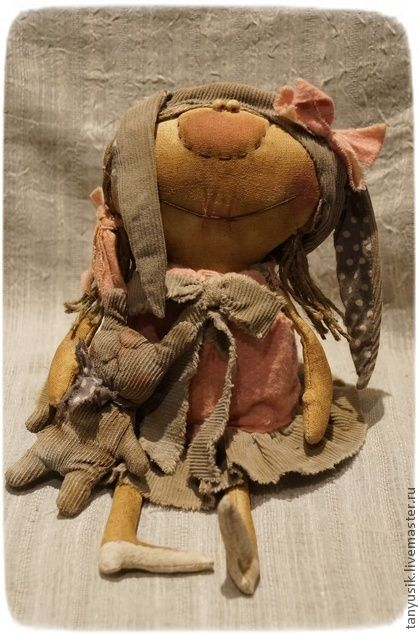 Ароматизированные куклы ручной работы. Ярмарка Мастеров - ручная работа Мамина зая)))))). Handmade.