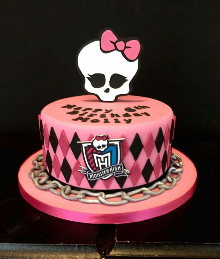 It was delight meeting Molly when she came to collect her Monster High birthday cake