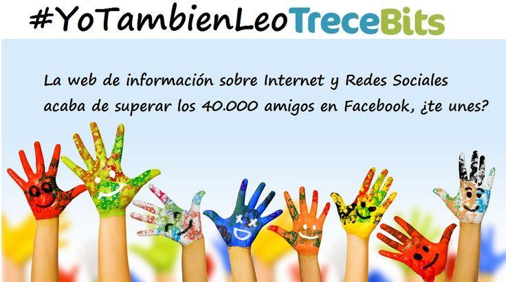 Somos 40.000 en Facebook!
