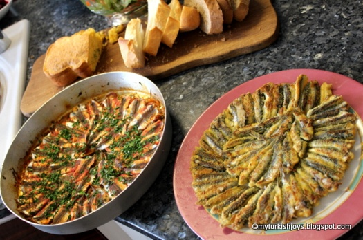 My Turkish Joys: Cooking Hamsi with Friends in Istanbul
