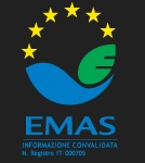 EMAS (based on ISO 14001:2004) All Cerdomus - Cerindustries S.p.a. factories and products have EMAS certification. This means they meet the levels of environmental excellence required under the most stringent European standards