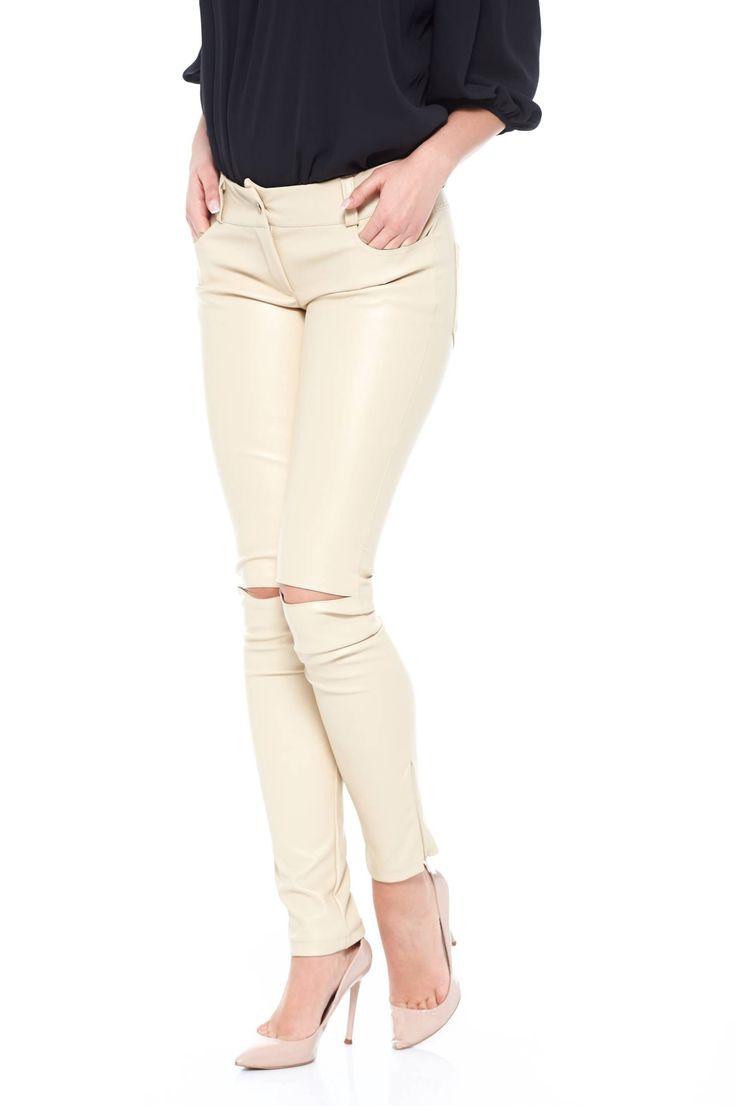 Artista Titanium Cream Trousers