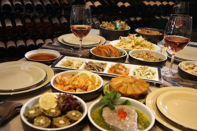 Delicious Lebanese food at Babel in Beirut