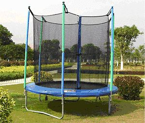 Bouncy fun for everyone, you cant beat a trampoline https://www.pricerunner.co.uk/cl/1290/Outdoor-Toys?search=10ft Trampoline with Enclosure ** BRAND NEW **