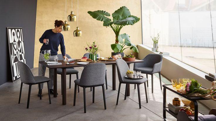 Softshell Side Chair designed by Ronan & Erwan Bouroullec in 2017.