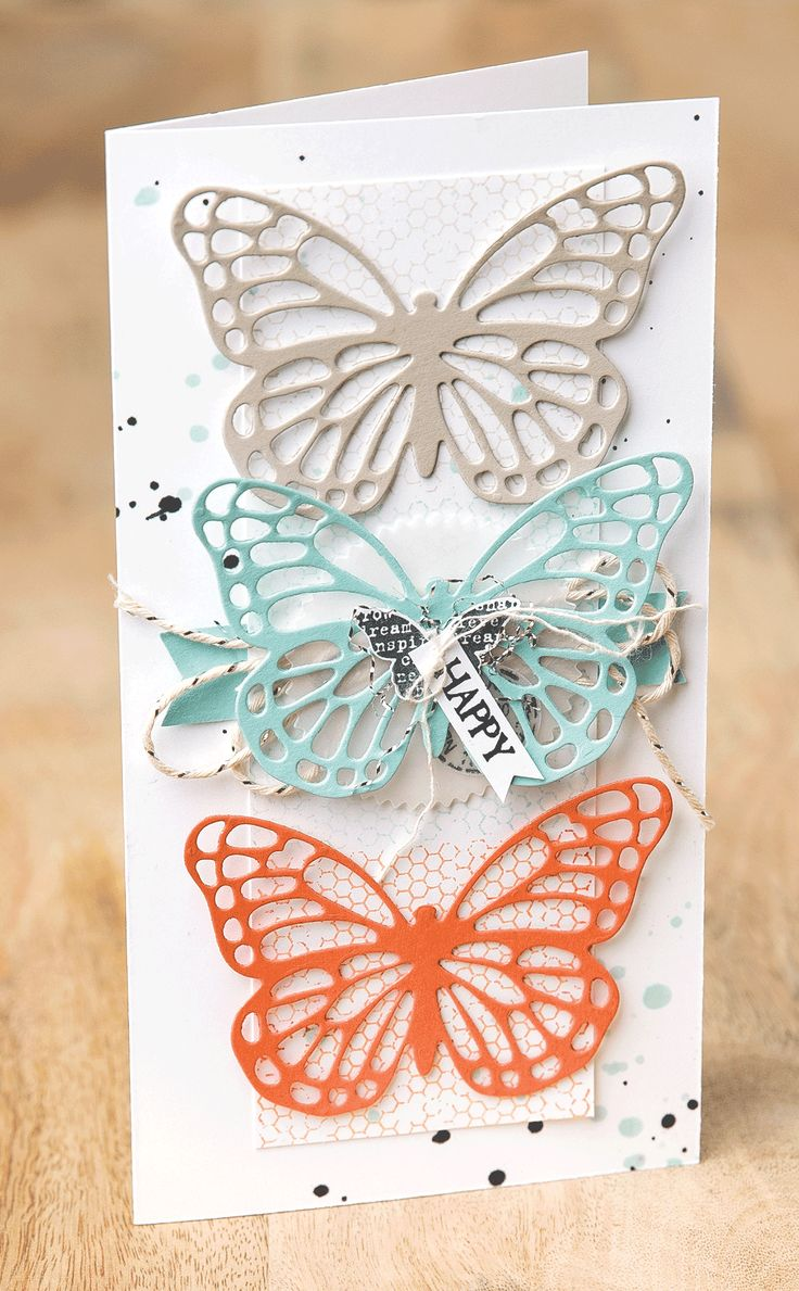 best butterfly cards SU u others images on Pinterest