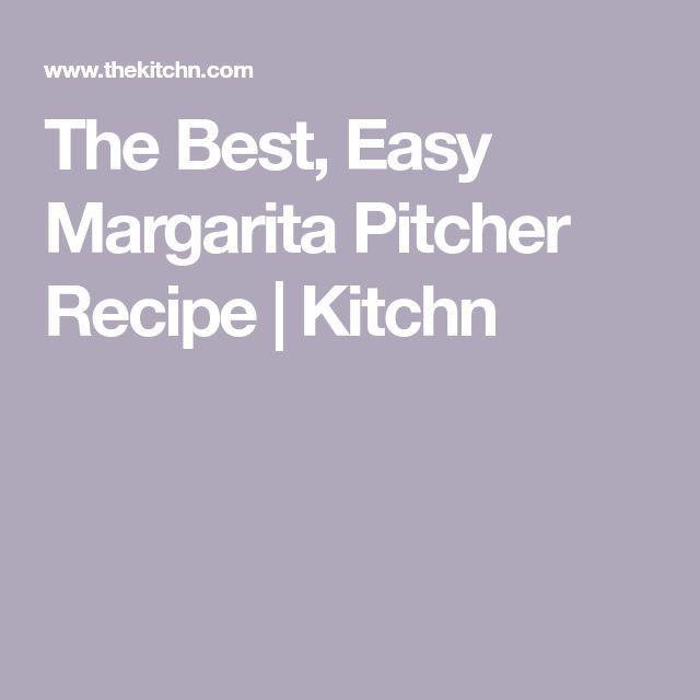 3-2-1 Pitcher Margaritas