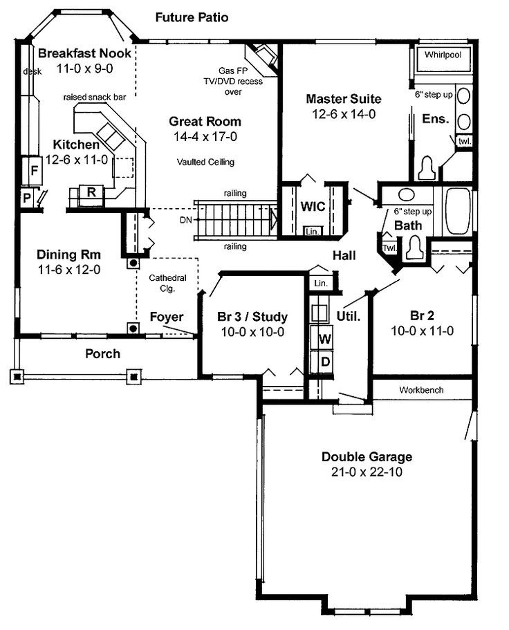 House Plans Open Floor open floor house plans | design ideas