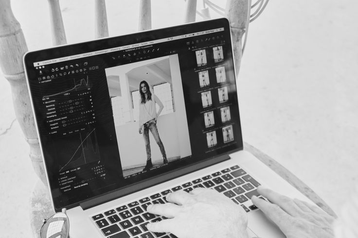 Behind the scenes shooting the new SW15 collection!