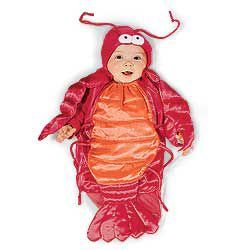 Baby Lobster Costume from One Step Ahead