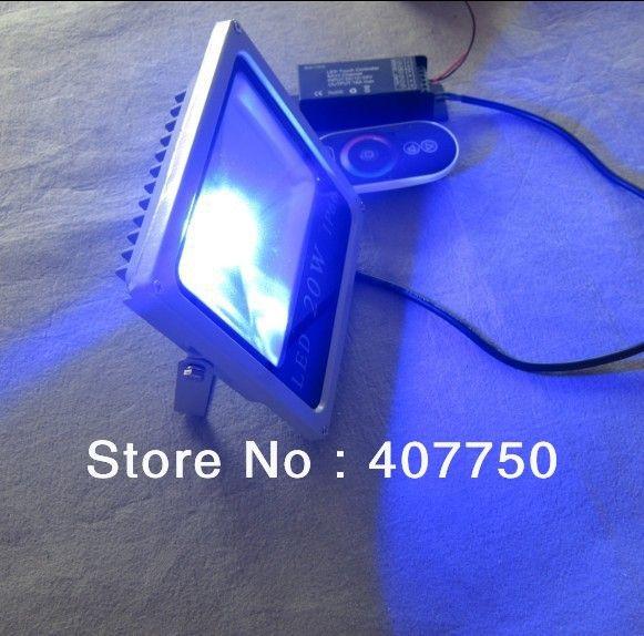 Ip66 водонепроницаемый новый корпус 4 провода подключения rgb led flood light 20 Вт DC24V используется для вилл и особняков