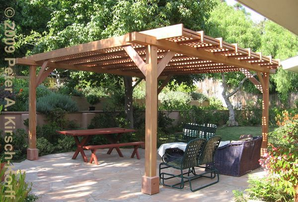 A pergola/arbor is a landscape feature, either free standing or attached as an…
