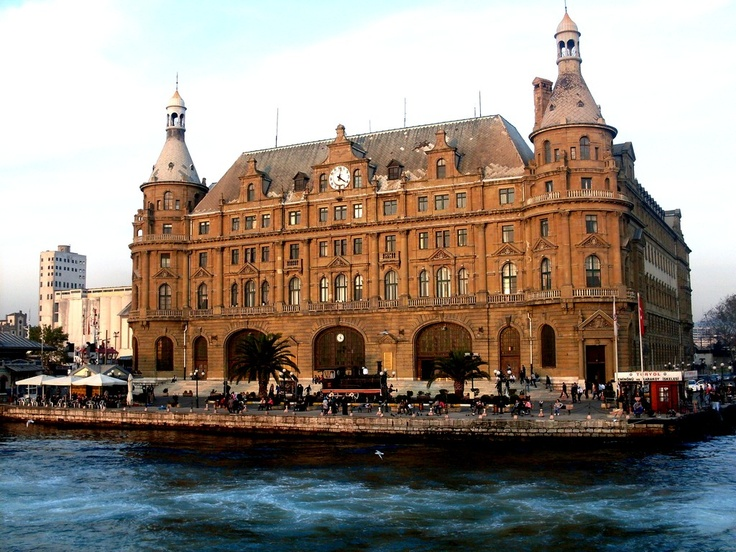 Haydarpaşa Gar (Kadıköy - Asian Side)  It was opened in 1908 as the first station of Hejaz and Baghdad Railway Line