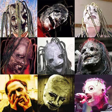 The evolution of Corey Taylor's/#8's mask. | Corey MFN ...