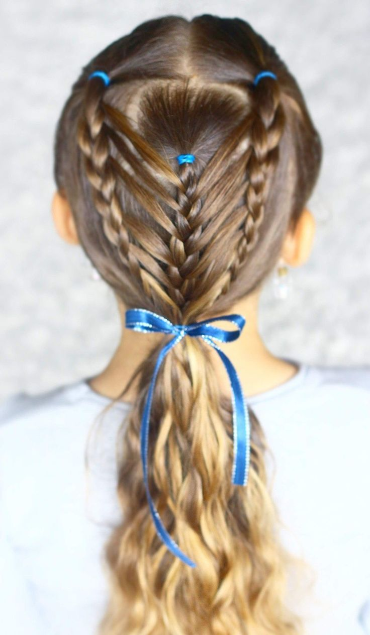 hair styles for school cute girls hairstyle. kids hair