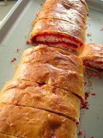 The Inner Gourmet: Guyanese Salara - Red coconut roll