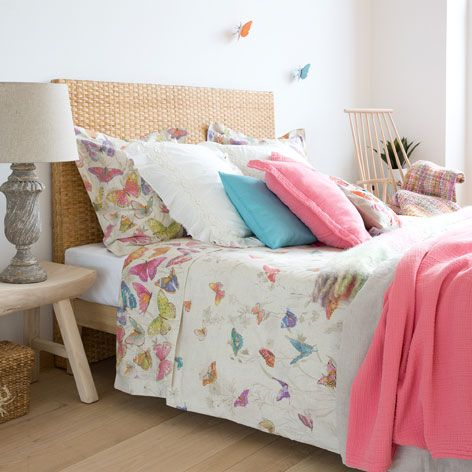 BUTTERFLY PRINT BED LINEN - Bedroom - New Collection | Zara Home United Kingdom