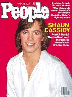 photo | 70s Music, Heartthrobs, Shaun Cassidy Cover, Teen Idols, Shaun Cassidy