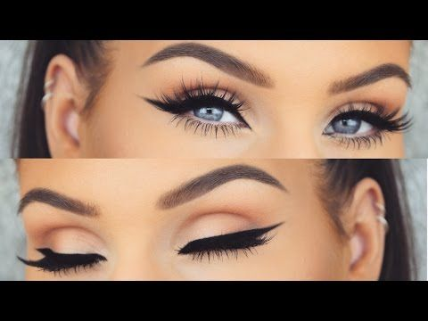 How To: Perfect Winged Eyeliner Every Time | Cat Eye Tutorial - YouTube