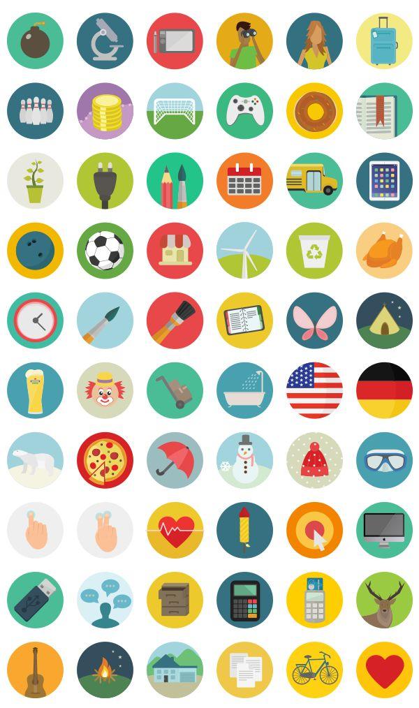Les icônes sont souvent utilisées par les créatifs qu'ils soient graphistes ou Web Designers. Elles permettent le rajout d'une touche de couleur et de fraîcheur dans la conception d'un outil de communication qui sera diffusé sur papier ou sur écran....