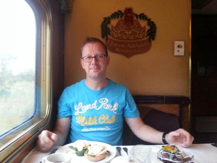 Dinner in Queen Adelaide restaurant