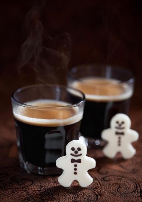 Кофейный коктейль к Новому году. Рецепт с фото