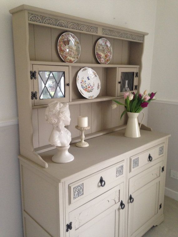 Vintage Welsh Dresser. Now Sold  Shabby Chic by LillyRoseLane