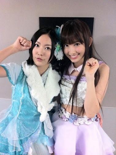 Jurina and Harunyan にゃんにゃん! #AKB48