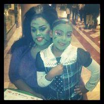 Mother/daughter costume: Eunice from Hotel Transylvania and Frankiestein #Eunice #Frankiestein #MonsterHigh #HotelTransylvania