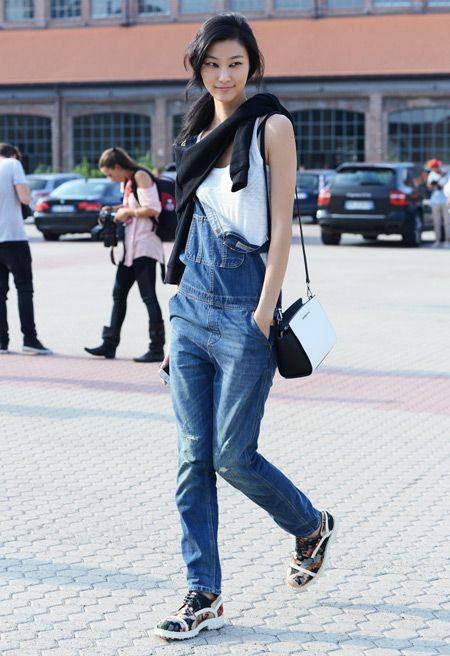67 best get the street style images on pinterest street styles stay cool in overalls fandeluxe Images