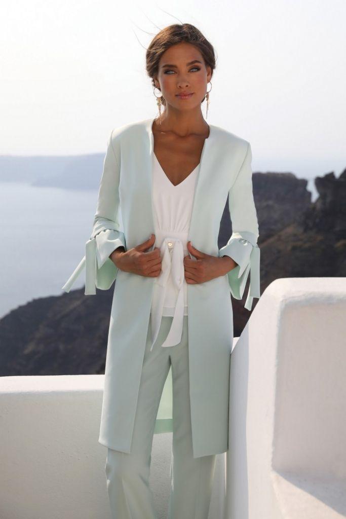 Brautmutter Kleider In 2020 Kleidung Brautmutter Brautmutter Outfit Hosenanzug Brautmutter