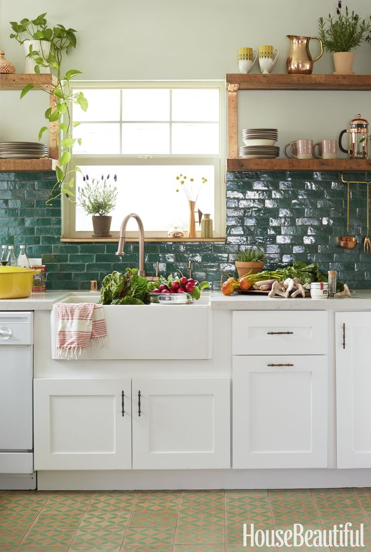 This california cottage will make you fall in love with - Backsplash cucina ...