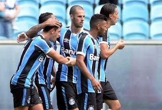 Blog Esportivo do Suíço: Campeonato Gaúcho 2016 - 7ª Rodada: Grêmio sai atrás, sofre, mas vira e bate o Glória