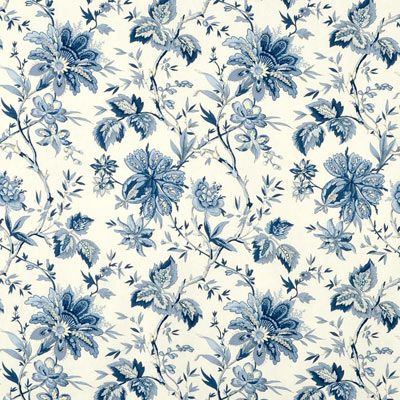 Waverly Felicite Indigo Fabric