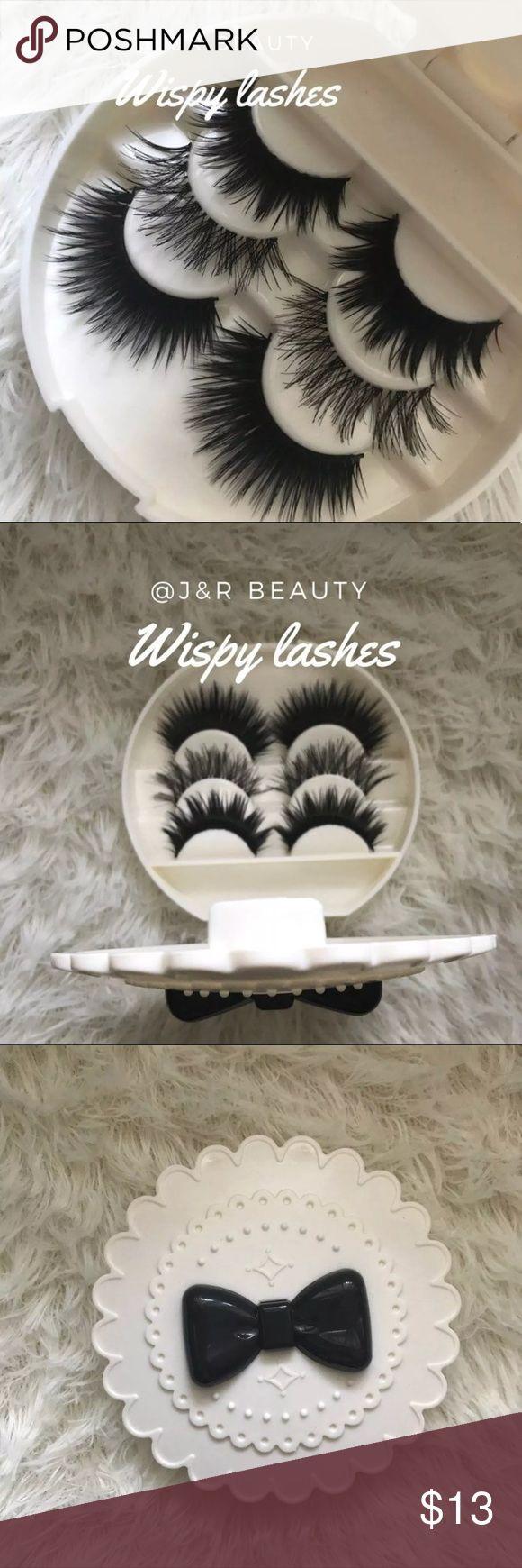Eyelashes + Eyelash Case # tags Iconic, mink, red cherry eyelashes, house of lashes, doll, kawaii, case, full, natural,  Koko, Ardell, wispies, Demi , makeup, Iconic, mink, red cherry eyelashes, house of lashes, doll, kawaii, case, full, natural,  Koko, Ardell, wispies, Demi , makeup, mascara, eyelash applicator, Mykonos Mink , Lashes , wispy ,eyelash case, mink lashes  Ship within 24 hours ❣️ Makeup False Eyelashes