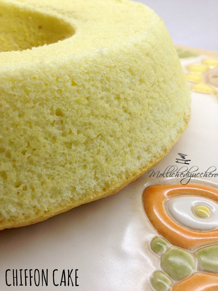 #Chiffon #cake - Molliche di zucchero