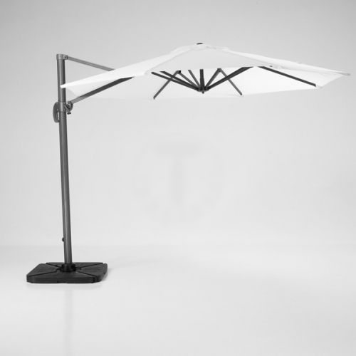 Adjustable aluminium Sore garden umbrella by Tomasucci at My Italian Living Ltd