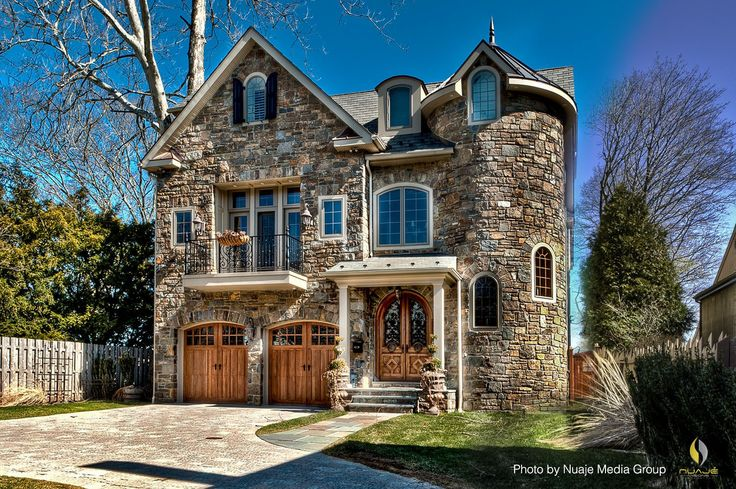 Victorian Home Exterior With A Castle Aura Thanks To The
