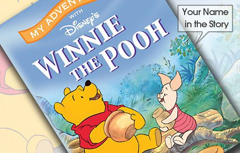 In this Personalized Winnie the Pooh Book your child and their friends are playing in the Hundred-Acre Wood, they come across Pooh and Piglet who are on a Honey Expedition. It starts to rain and they get caught in a flood. All of Pooh's honey floats away. Since Pooh is always hungry for honey, they go in search of more.