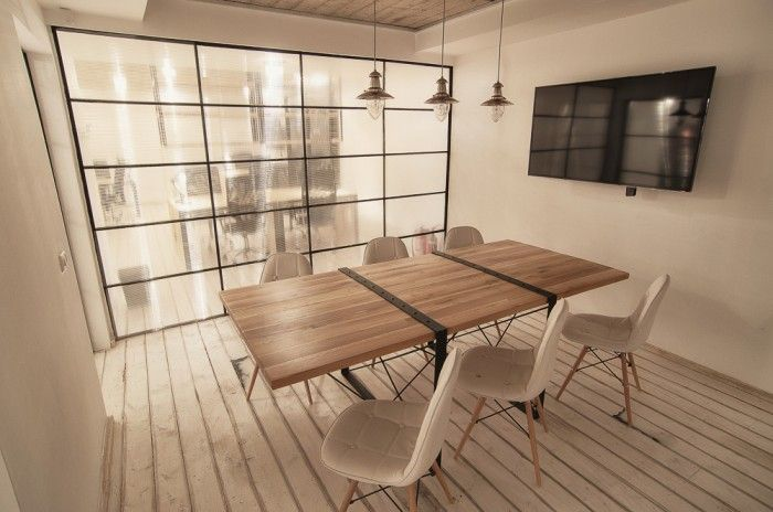 I like this style conference table...but not quite right.