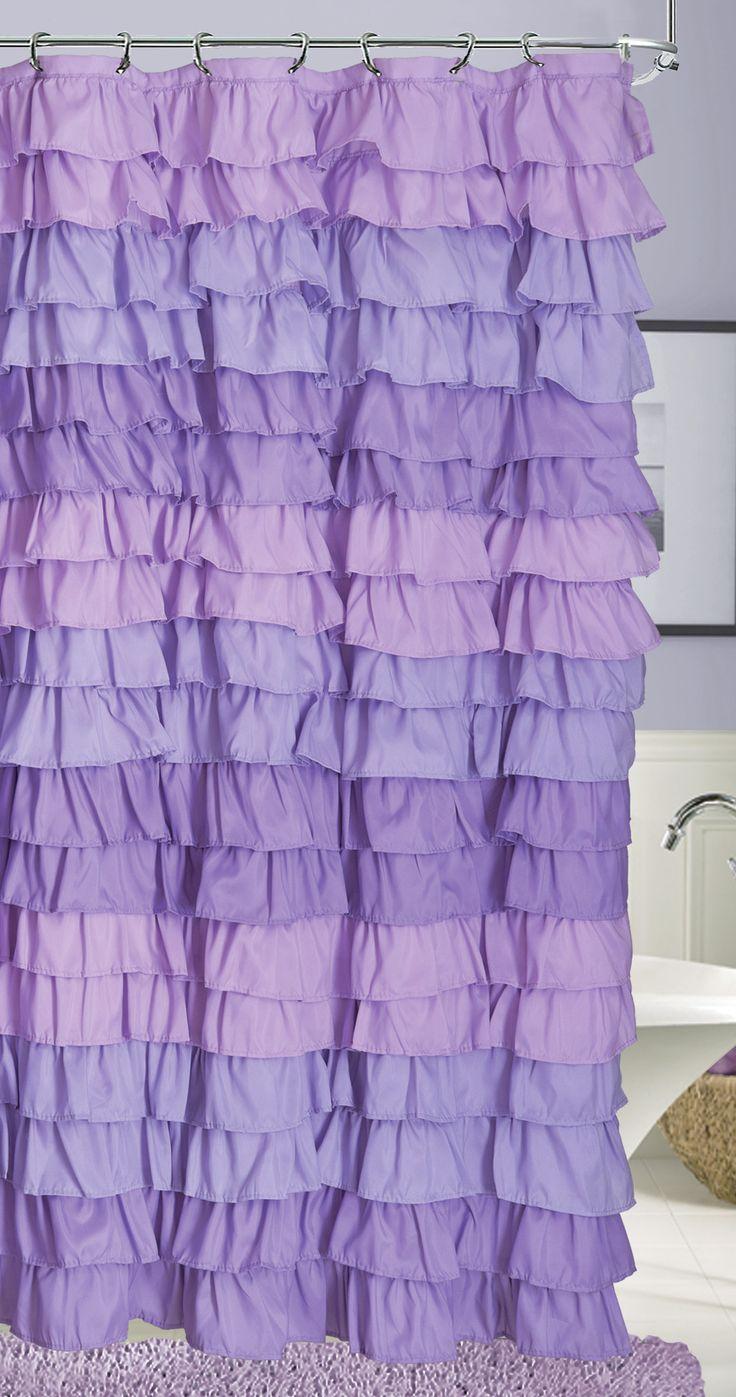 Venezia Ruffle Shower Curtain