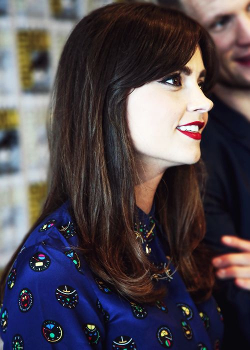 Jenna Louise Coleman At Comic Con Celebrities