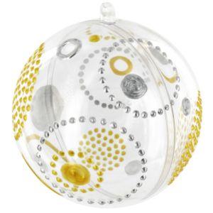 Boule plastique transparente Ø 16 cm ( l'unité )