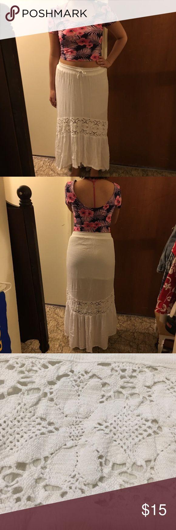 Selling this JUST IN🎉 Aeropostale Maxi Skirt on Poshmark! My username is: pandacita. #shopmycloset #poshmark #fashion #shopping #style #forsale #Aeropostale #Dresses & Skirts