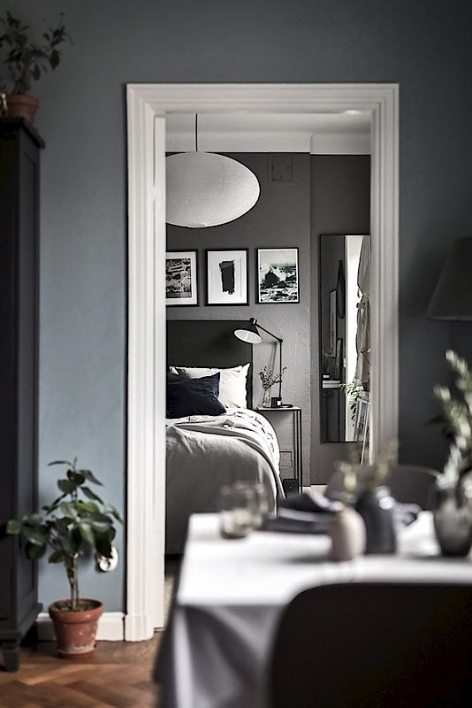 74 best interiors images on Pinterest Abstract art, Accent walls